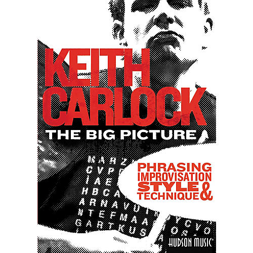 Hal Leonard The Big Picture: Phrasing, Improvisation Style & Technique with Keith Carlock (2-DVD Set)-thumbnail