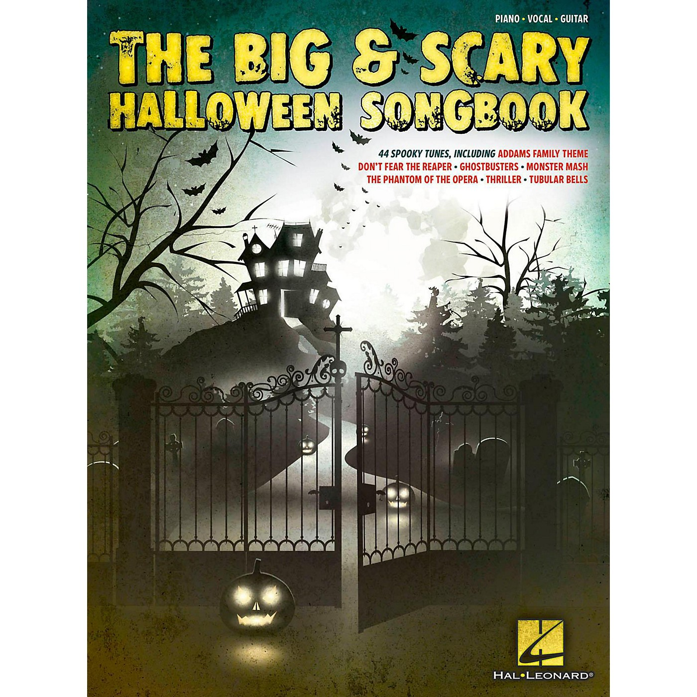 Hal Leonard The Big & Scary Halloween Songbook for Piano/Vocal/Guitar thumbnail