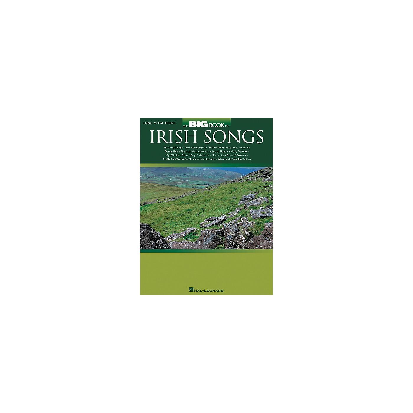 Hal Leonard The Big of Irish Songs Piano/Vocal/Guitar Songbook thumbnail