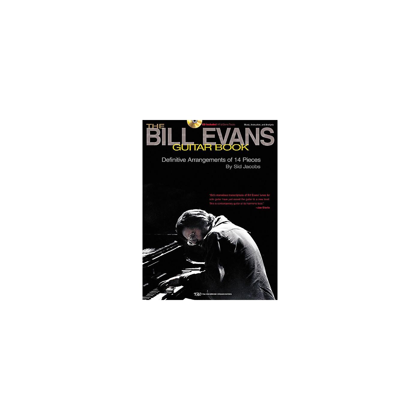 Richmond Organization The Bill Evans Guitar (Book/CD) thumbnail