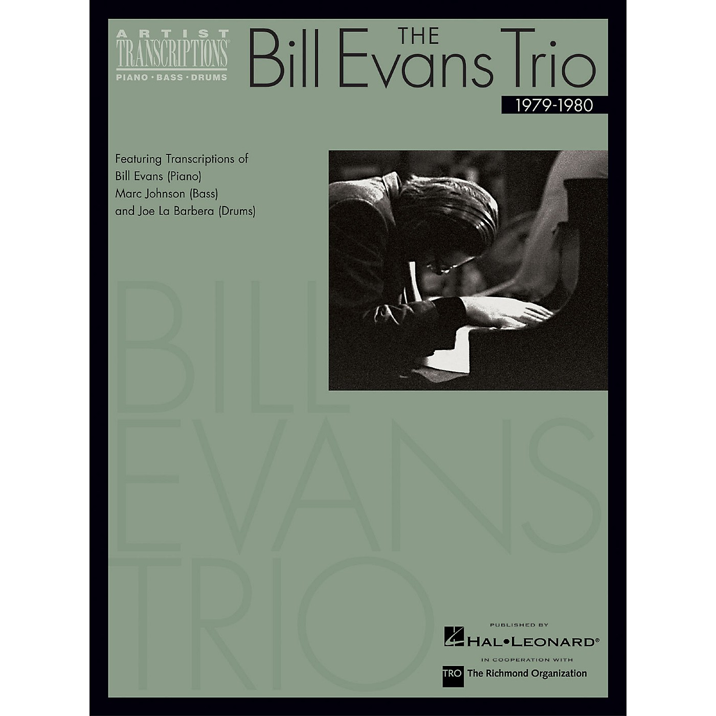Hal Leonard The Bill Evans Trio - 1979-1980 Artist Transcriptions Series Performed by Bill Evans thumbnail