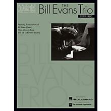 Hal Leonard The Bill Evans Trio - 1979-1980 Artist Transcriptions Series Performed by Bill Evans