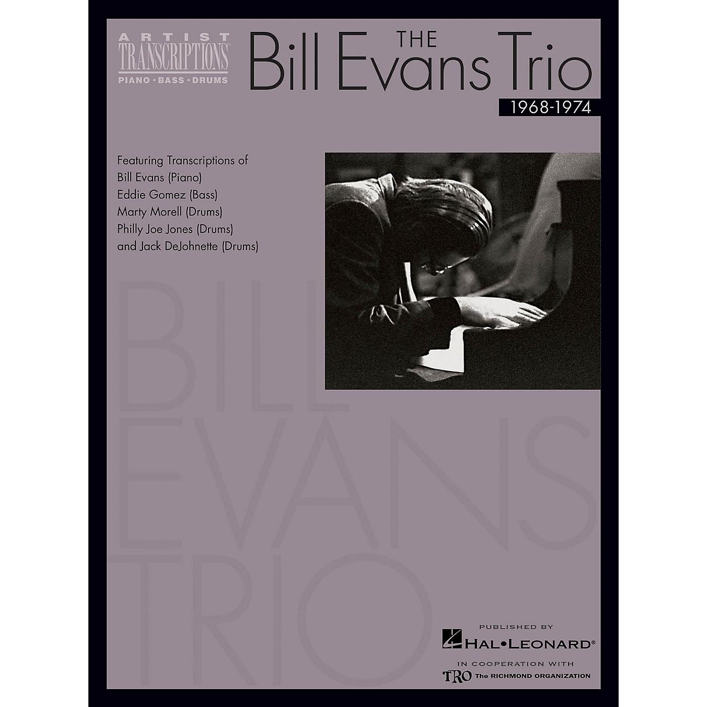 Hal Leonard The Bill Evans Trio - Volume 3 (1968-1974) Artist Transcriptions Series Performed by Bill Evans thumbnail