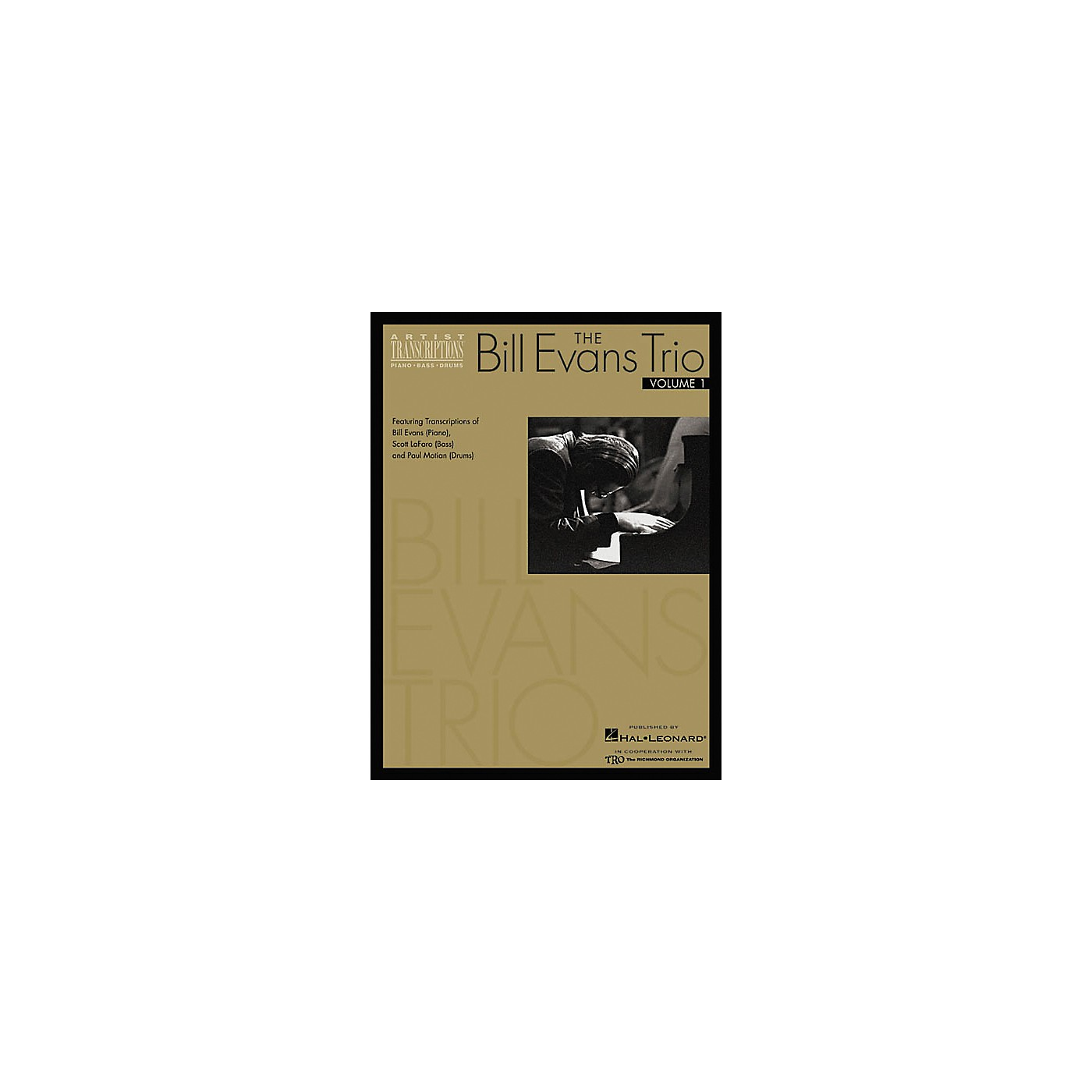 Hal Leonard The Bill Evans Trio Volume 1 1959-1961 Transcribed Scores Book thumbnail
