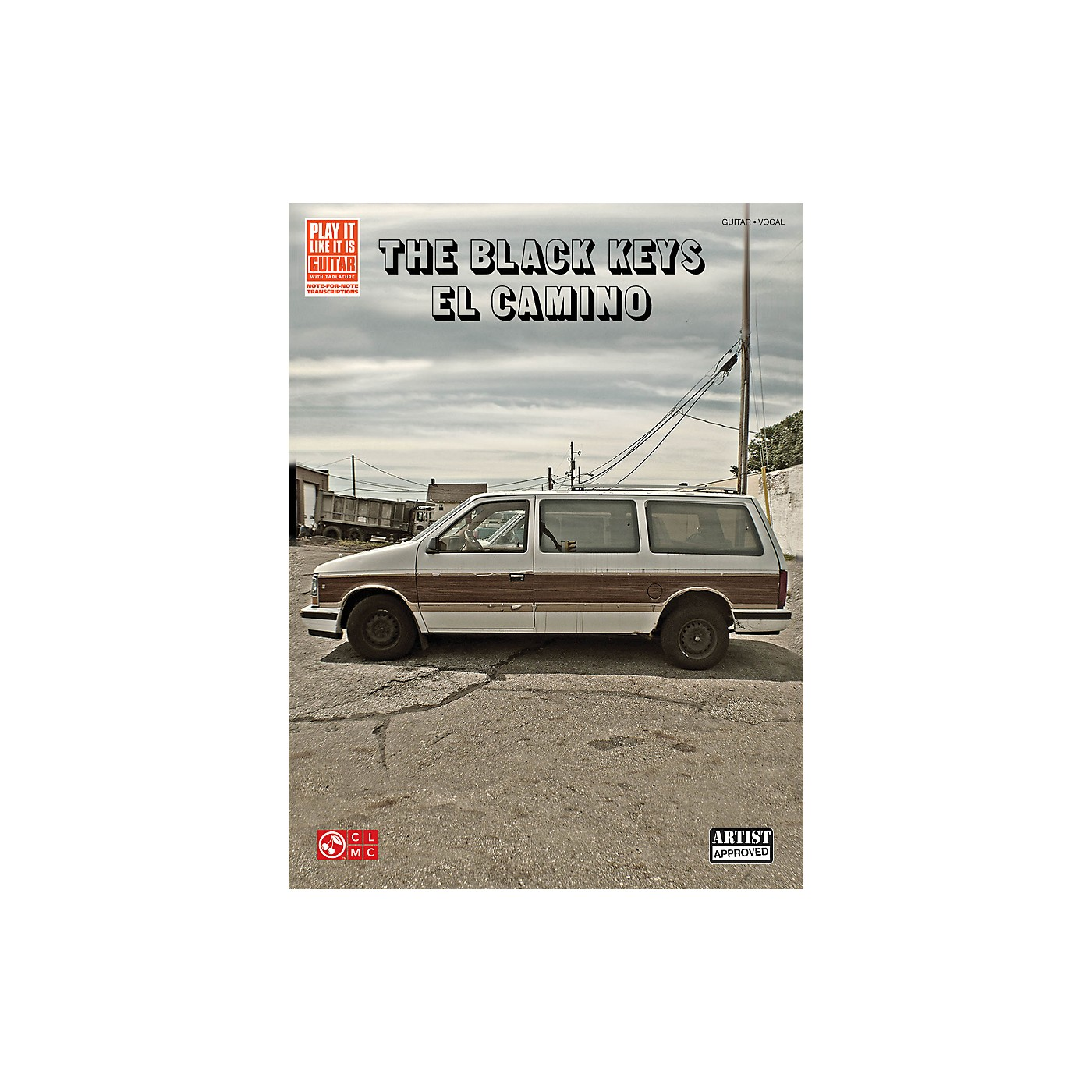 Cherry Lane The Black Keys El Camino Guitar Tab Songbook thumbnail