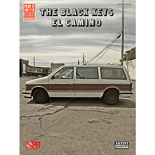 Cherry Lane The Black Keys El Camino Guitar Tab Songbook thumbnail