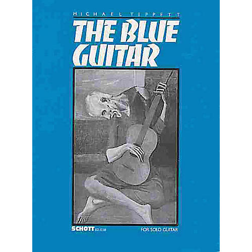 Schott The Blue Guitar (Sonata for Guitar (1982-83)) Schott Series thumbnail