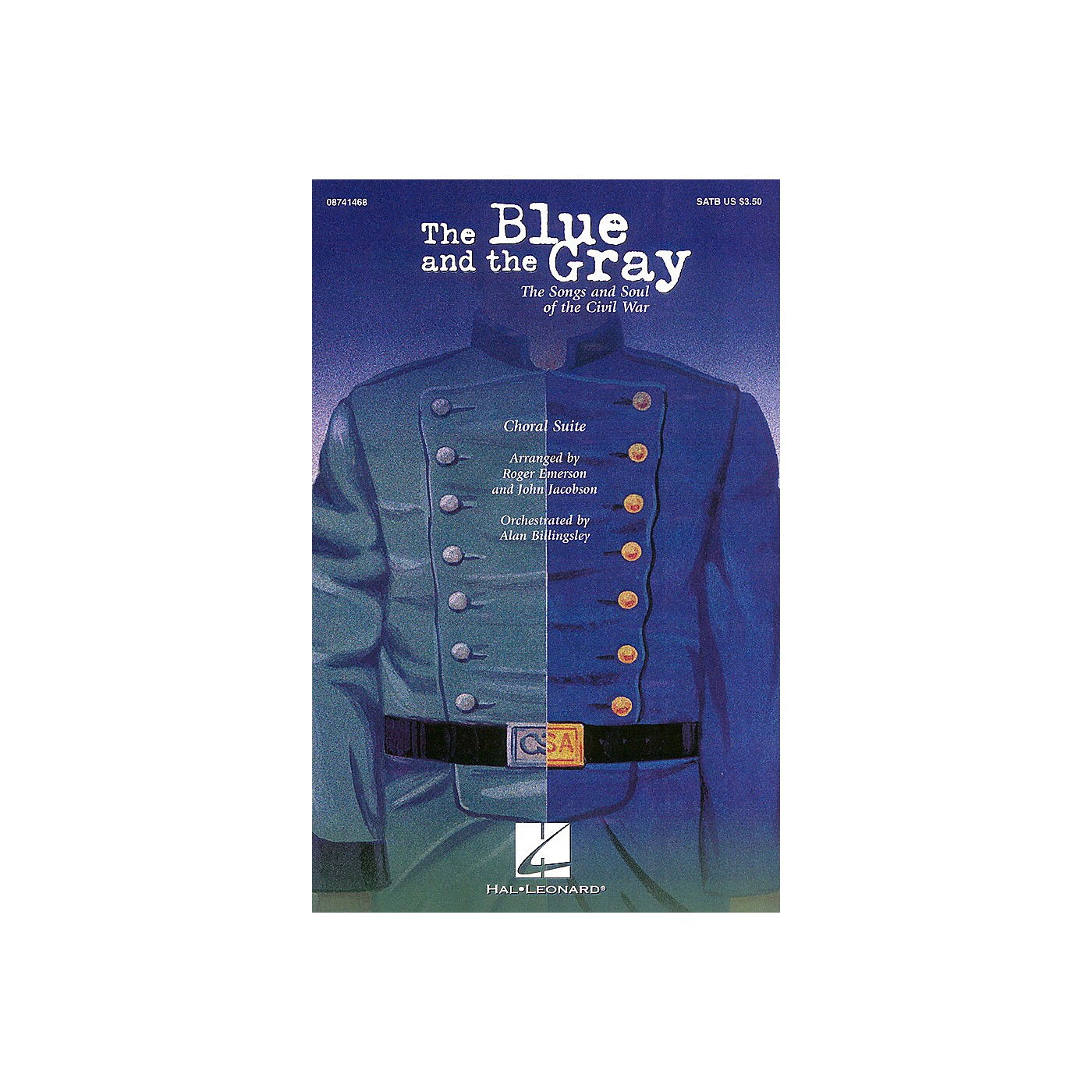 Hal Leonard The Blue and the Gray (Choral Suite) 2-Part Arranged by Roger Emerson thumbnail