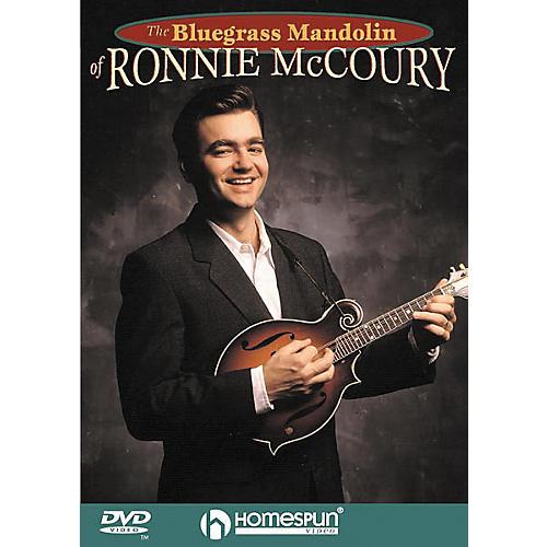 Homespun The Bluegrass Mandolin of Ronnie McCoury (DVD) thumbnail