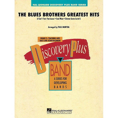 Hal Leonard The Blues Brothers Greatest Hits - Discovery Plus Band Level 2 arranged by Paul Murtha thumbnail