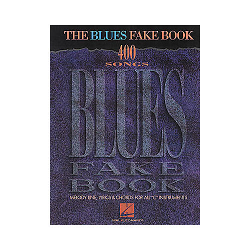 Hal Leonard The Blues Fake Book thumbnail