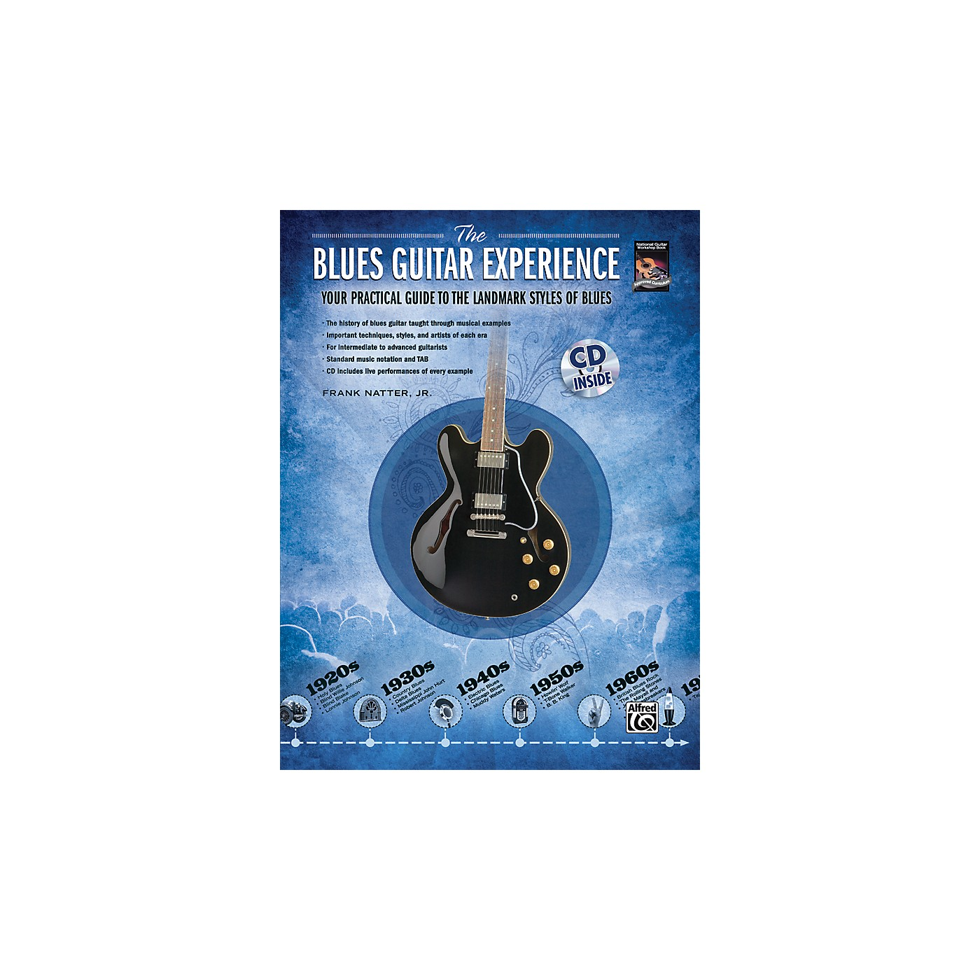 Alfred The Blues Guitar Experience Your Practical Guide To The Landmark Styles Of Blues - Book/CD thumbnail