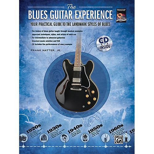 Alfred The Blues Guitar Experience Your Practical Guide To The Landmark Styles Of Blues - Book/CD-thumbnail