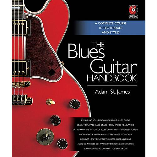 Backbeat Books The Blues Guitar Handbook Book Series Hardcover Media Online Written by Adam St. James thumbnail