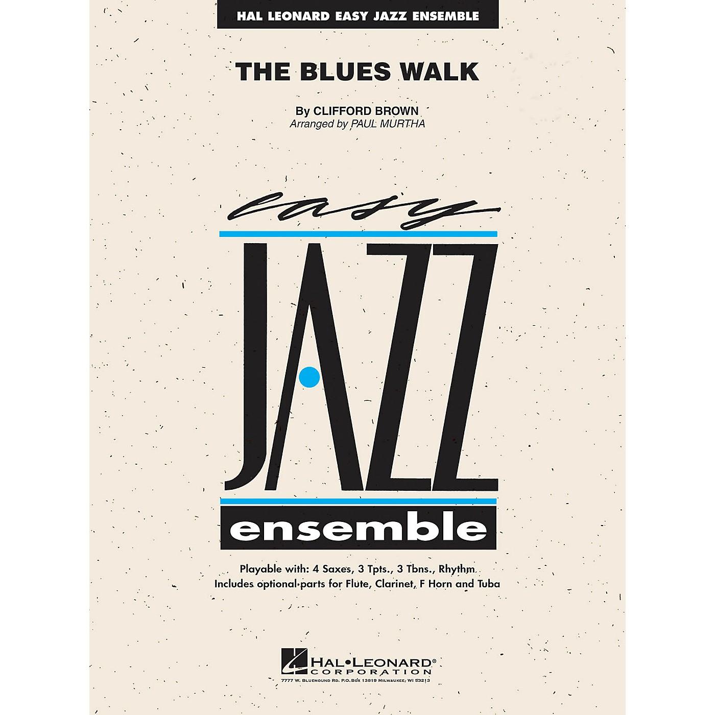 Hal Leonard The Blues Walk Jazz Band Level 2 Arranged by Paul Murtha thumbnail