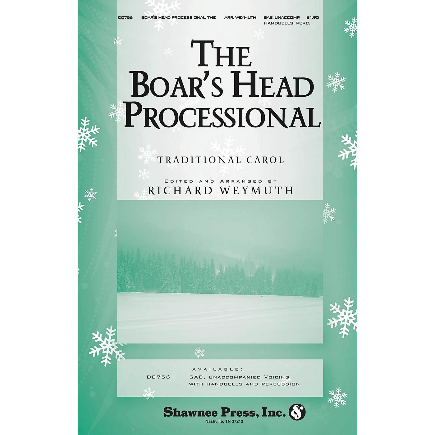 Shawnee Press The Boars Head Processional SAB Arranged by Richard Weymuth thumbnail