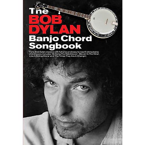 Hal Leonard The Bob Dylan Banjo Chord Songbook thumbnail