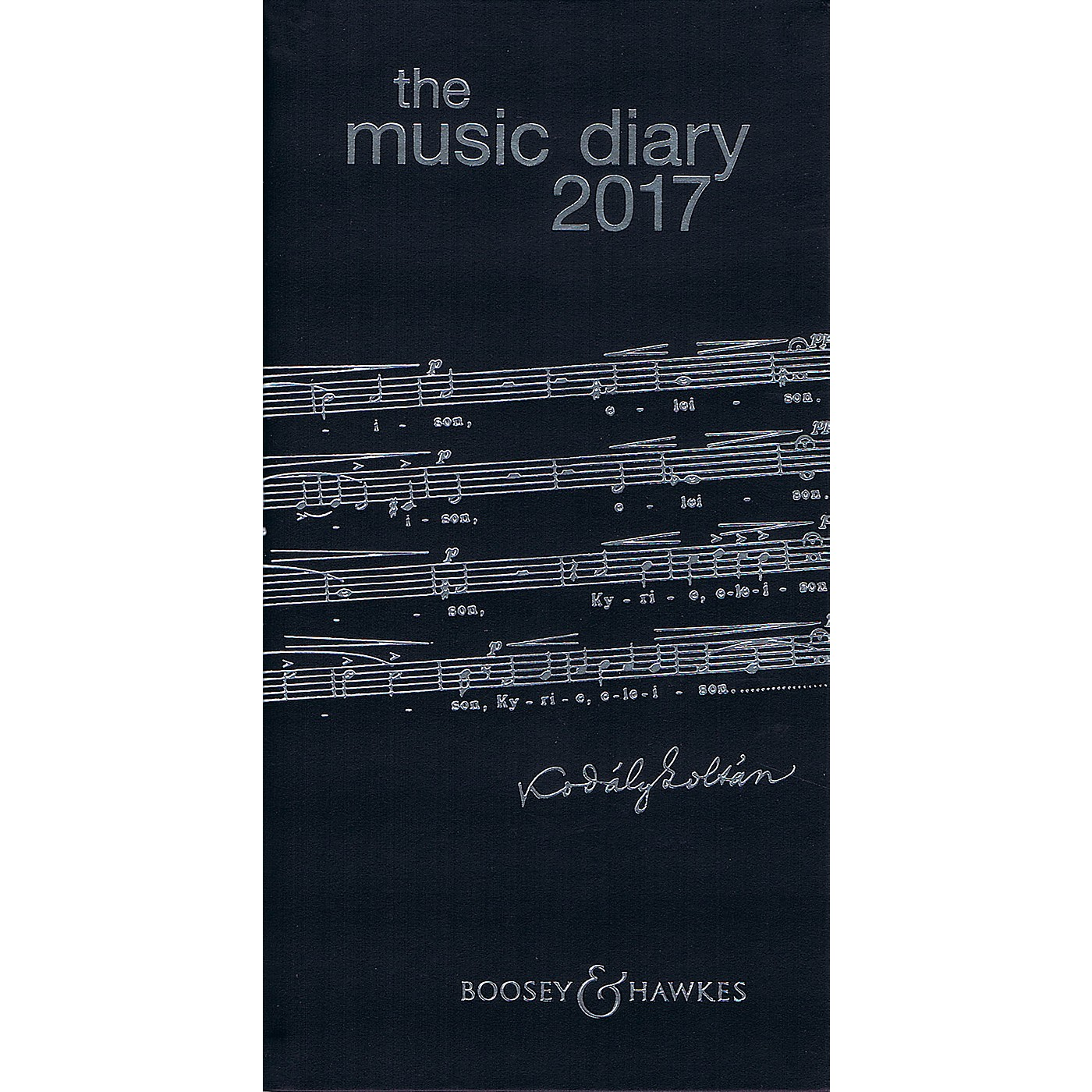 Boosey and Hawkes The Boosey & Hawkes Music Diary 2017 Boosey & Hawkes Series Softcover thumbnail