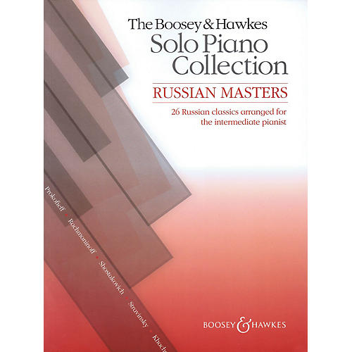 Hal Leonard The Boosey & Hawkes Solo Piano Collection:  Russian Masters thumbnail