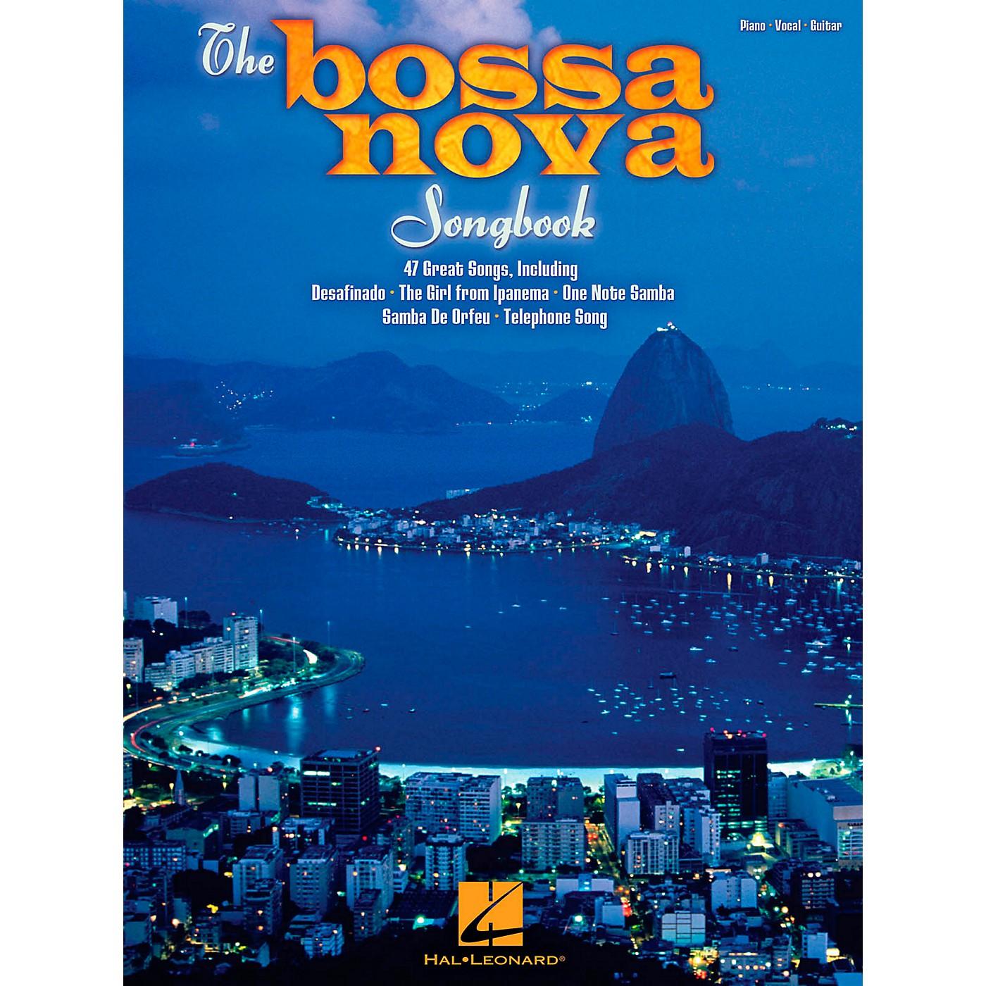 Hal Leonard The Bossa Nova Songbook for Piano/Vocal/Guitar PVG thumbnail