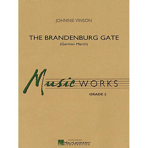 Hal Leonard The Brandenburg Gate (German March) Concert Band Level 2 Composed by Johnnie Vinson thumbnail