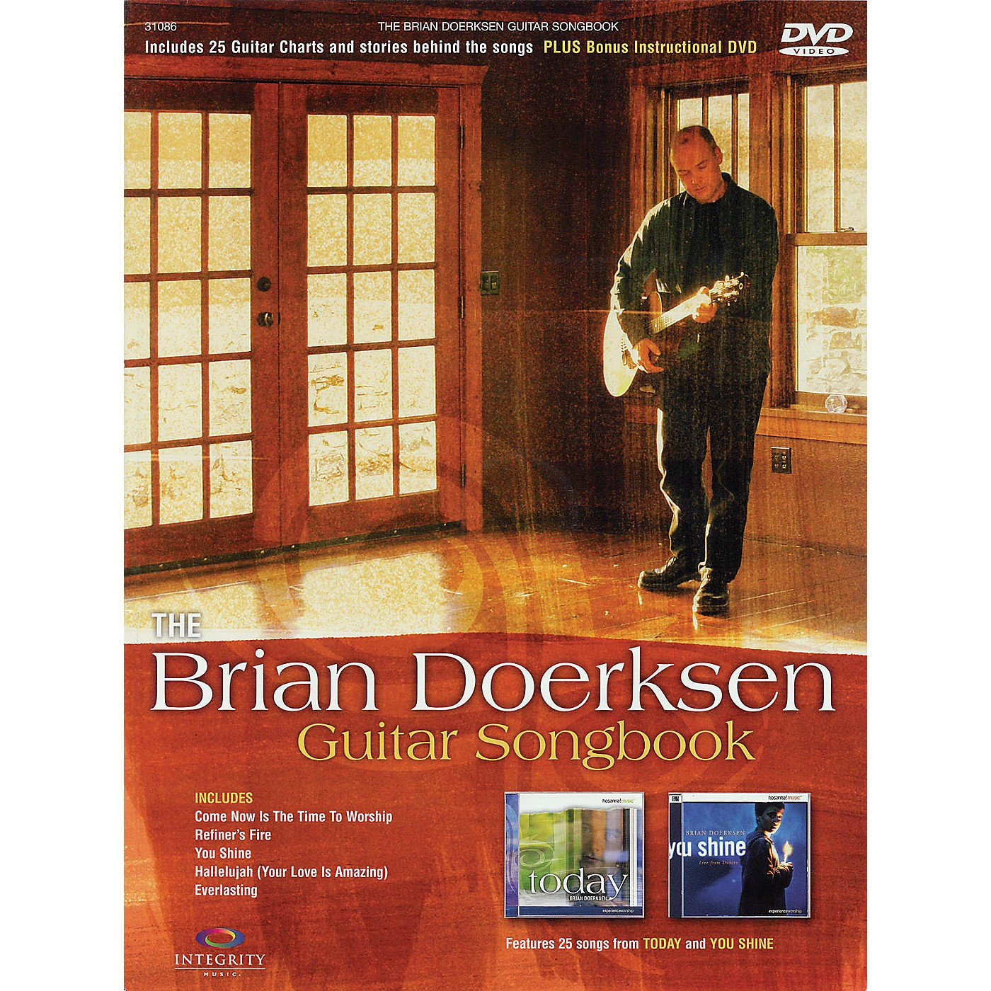 Integrity Music The Brian Doerksen Guitar Songbook Integrity Series Softcover with DVD Performed by Brian Doerksen thumbnail