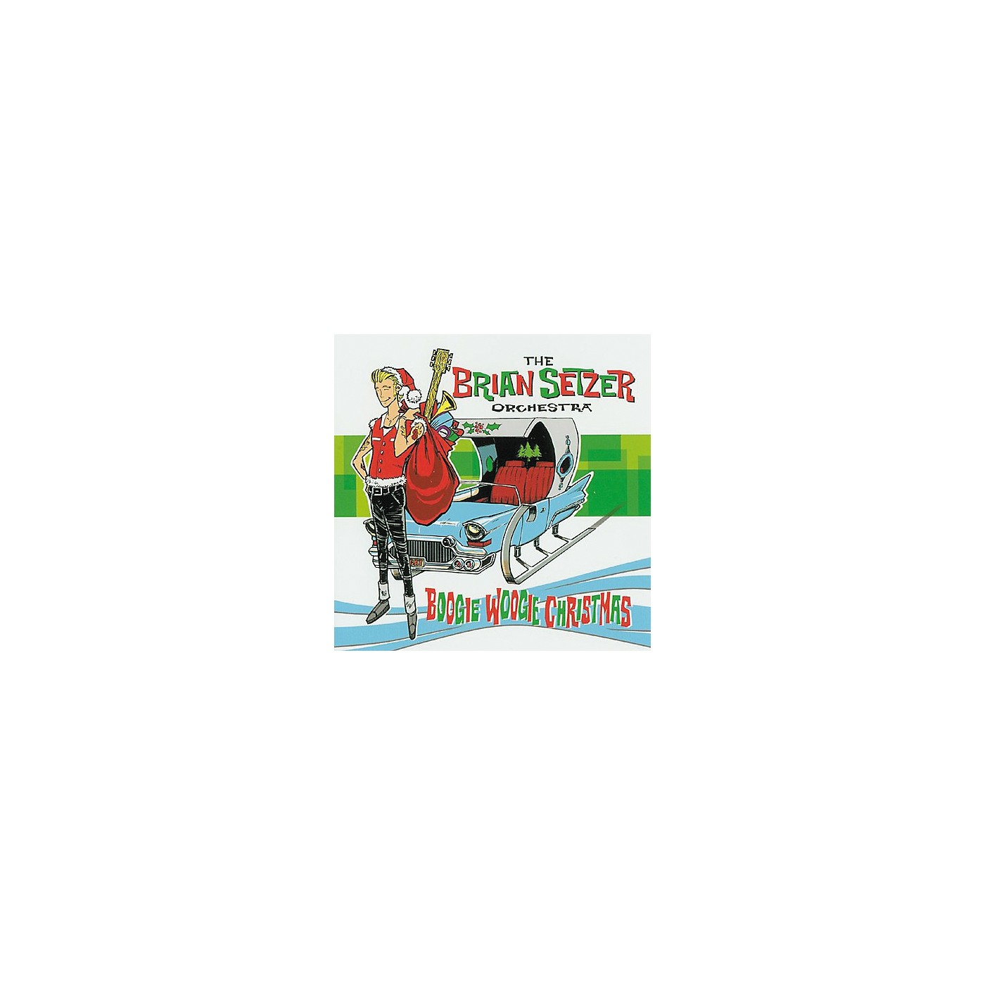 Gretsch The Brian Setzer Orchestra - Boogie Woogie Christmas Audio (CD) thumbnail