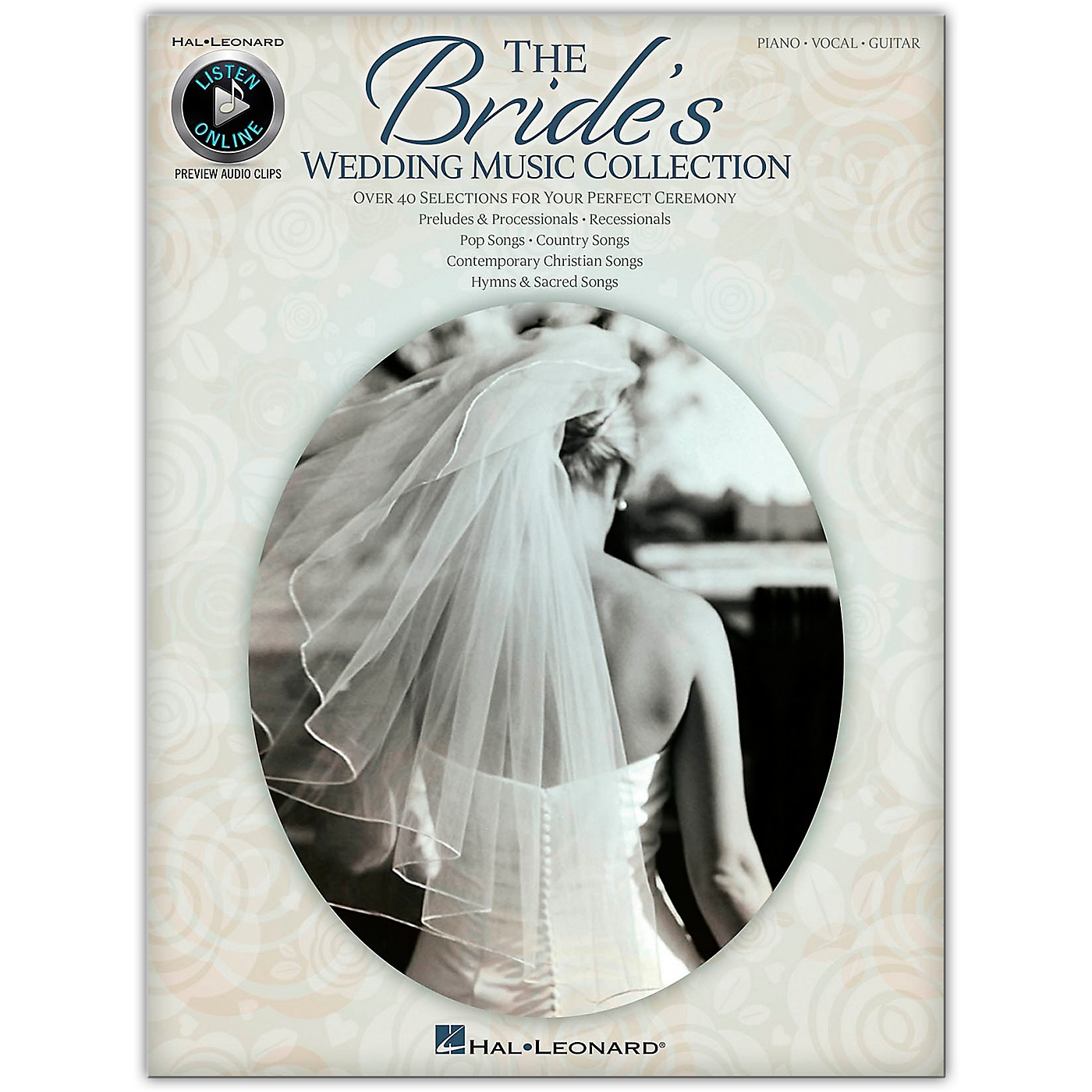 Hal Leonard The Bride's Wedding Music Collection for Piano/Vocal/Guitar (Book/Online Audio) thumbnail