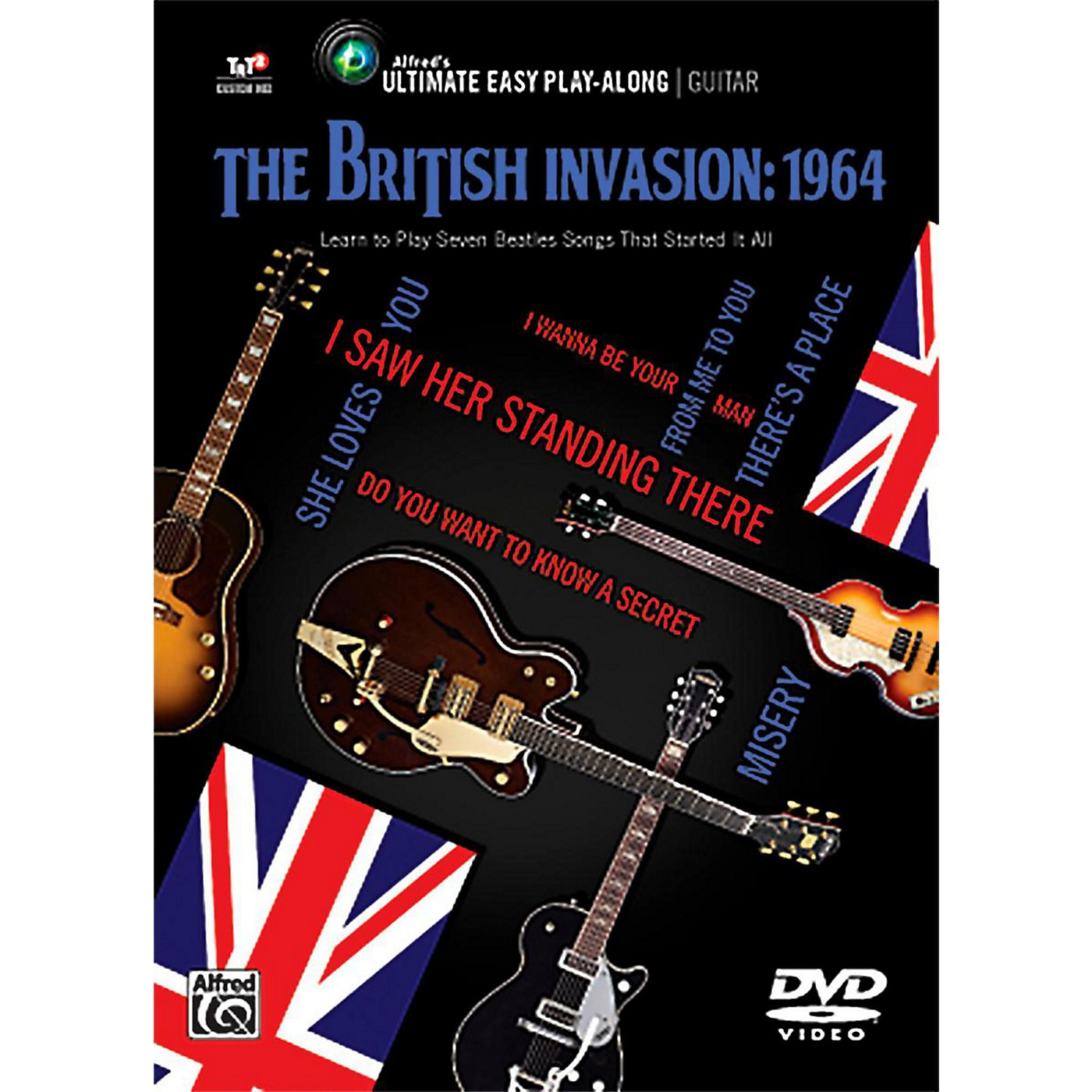 Alfred The British Invasion 1964 - Ultimate Easy Guitar Play-Along DVD thumbnail
