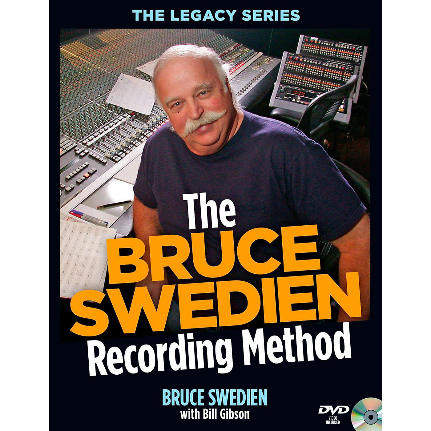 Hal Leonard The Bruce Swedien Recording Method Book/DVD-ROM thumbnail