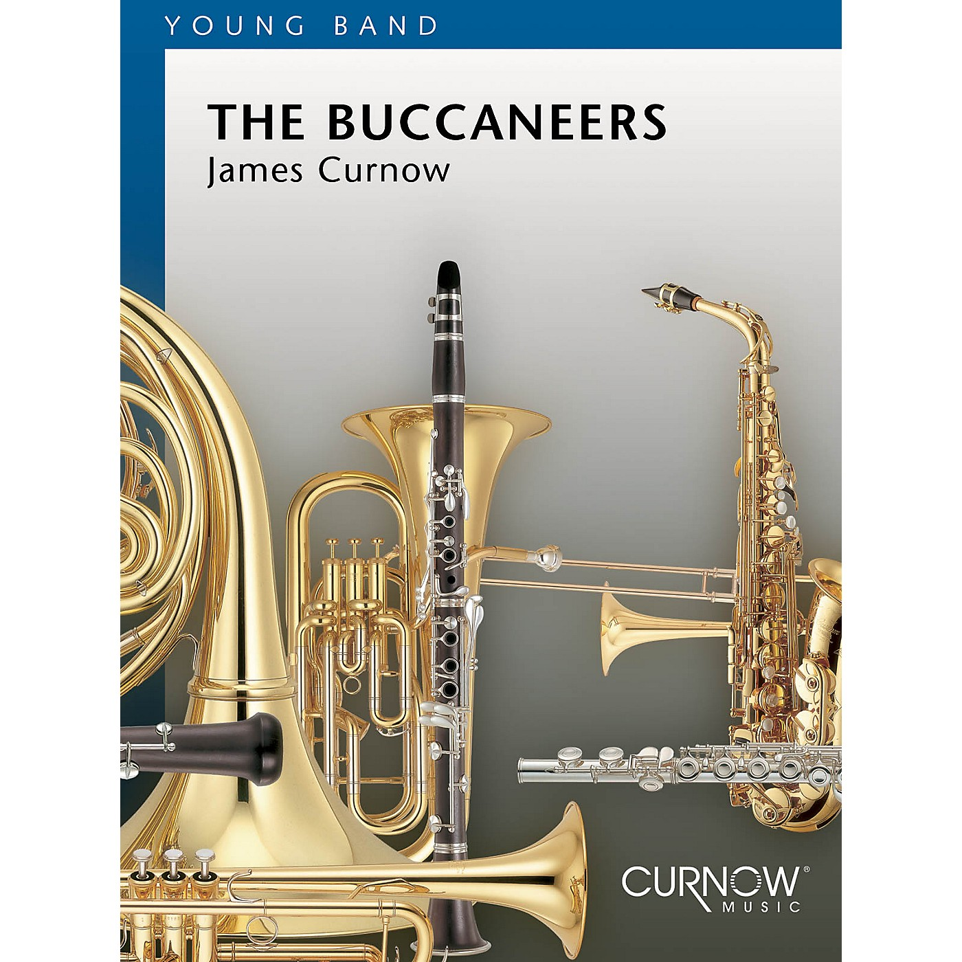 Curnow Music The Buccaneers (Grade 2 - Score and Parts) Concert Band Level 2 Composed by James Curnow thumbnail