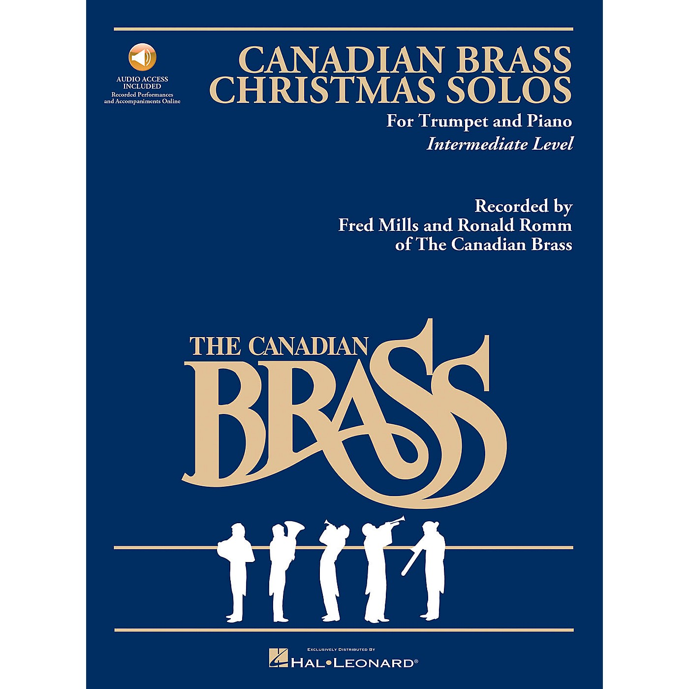 Hal Leonard The Canadian Brass Christmas Solos Brass Series Book Audio Online thumbnail