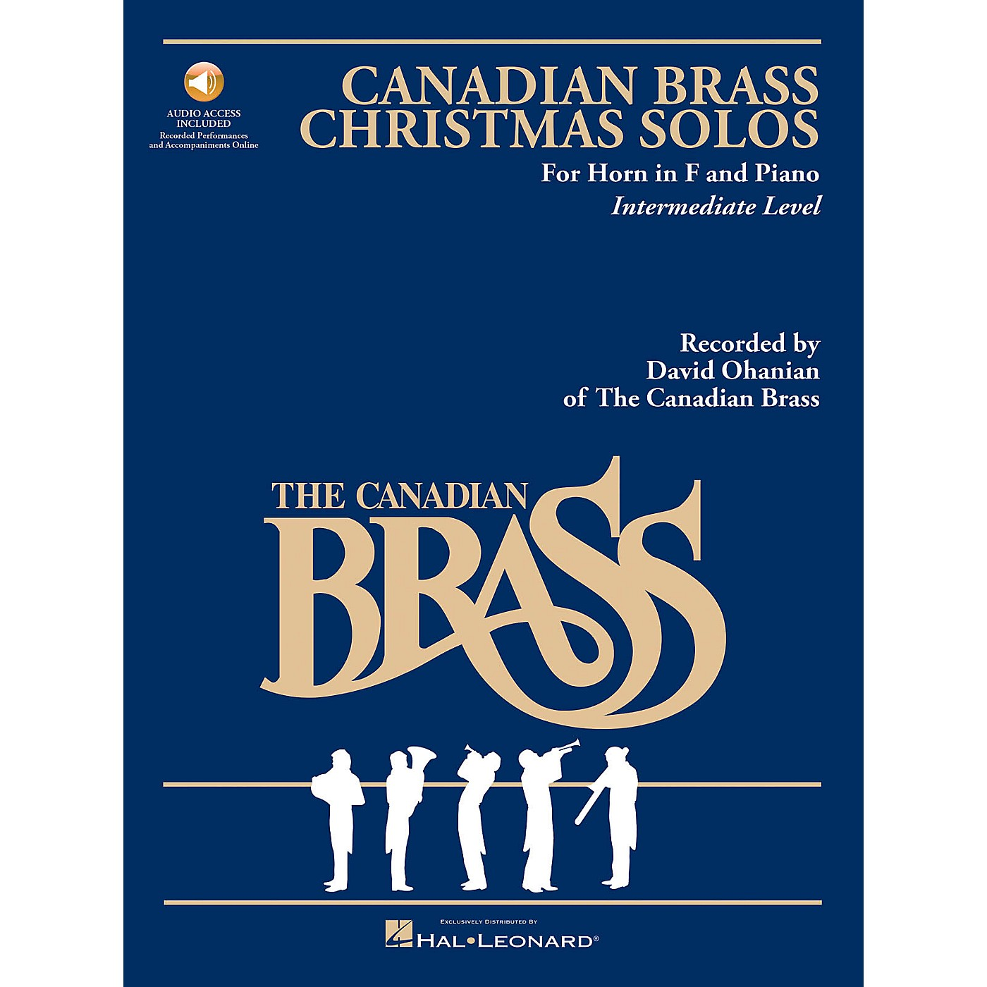 Hal Leonard The Canadian Brass Christmas Solos Brass Series Book with CD  by Various thumbnail