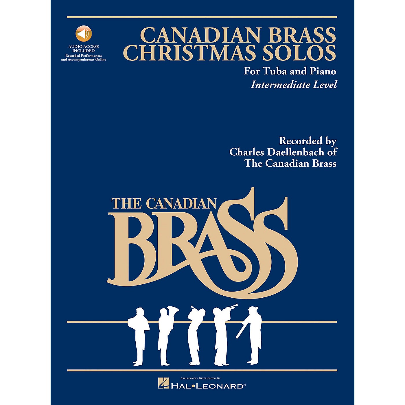 Hal Leonard The Canadian Brass Christmas Solos (Tuba) Brass Series Softcover Audio Online Composed by Various thumbnail