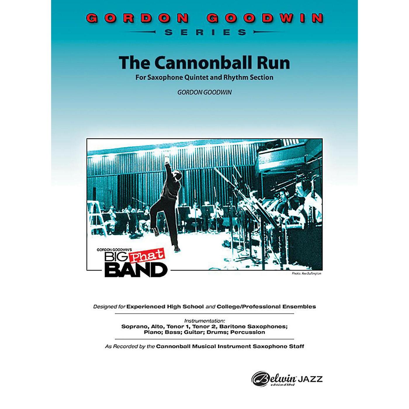 Alfred The Cannonball Run Jazz Band Grade 5 Set thumbnail
