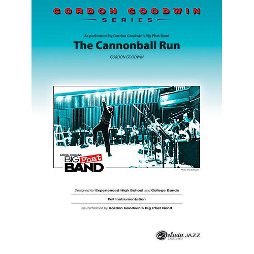 BELWIN The Cannonball Run Jazz Ensemble Grade 5 (Advanced / Difficult) thumbnail