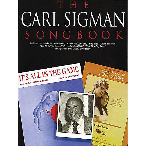 Music Sales The Carl Sigman Songbook Music Sales America Series Softcover thumbnail