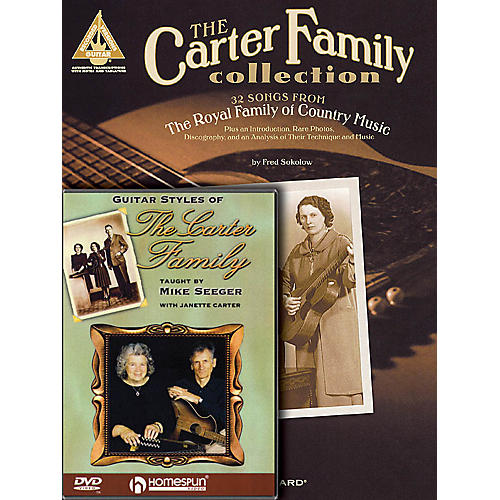 Homespun The Carter Family Bundle Pack Homespun Tapes Series Softcover with DVD Performed by Carter Family thumbnail