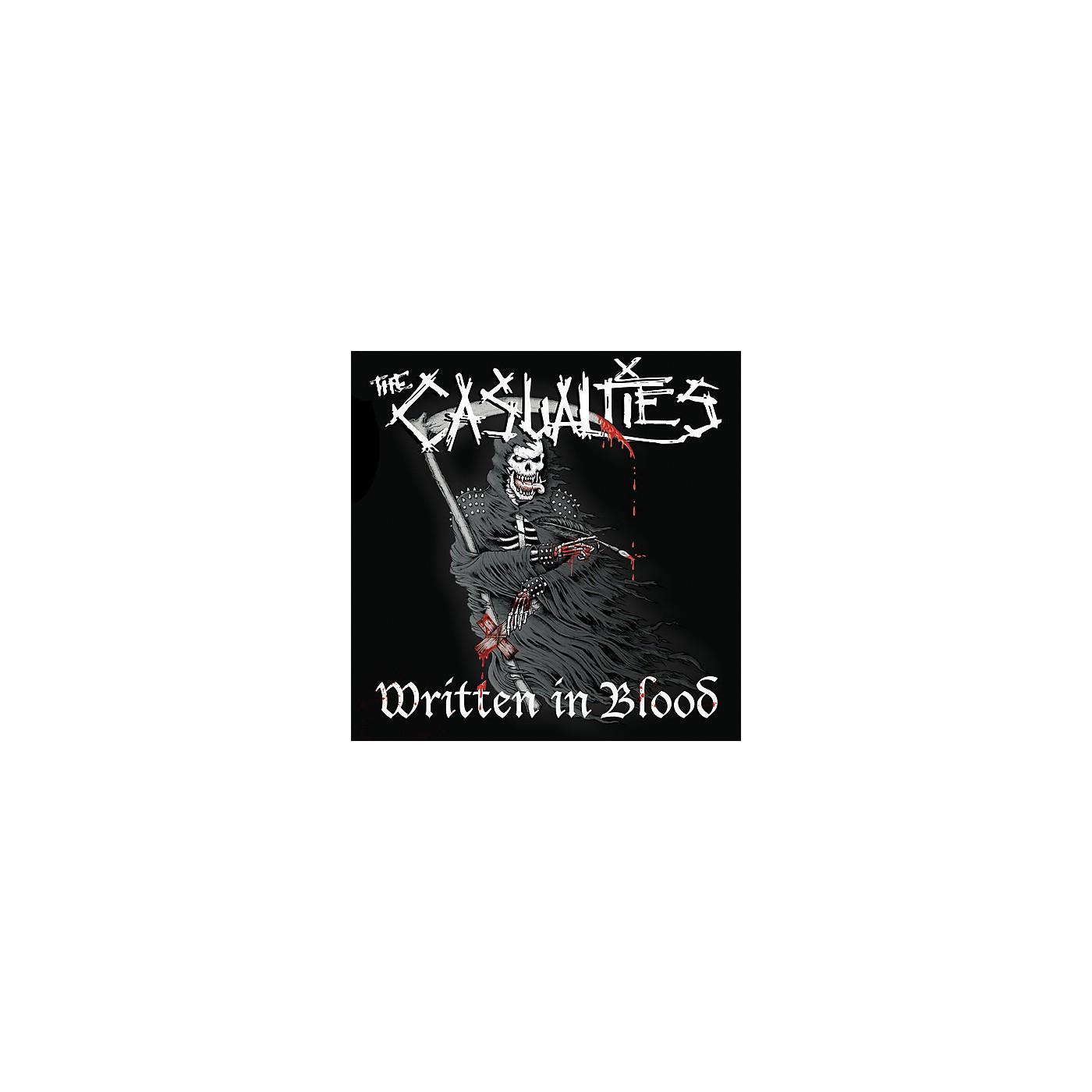 Alliance The Casualties - Written In Blood thumbnail