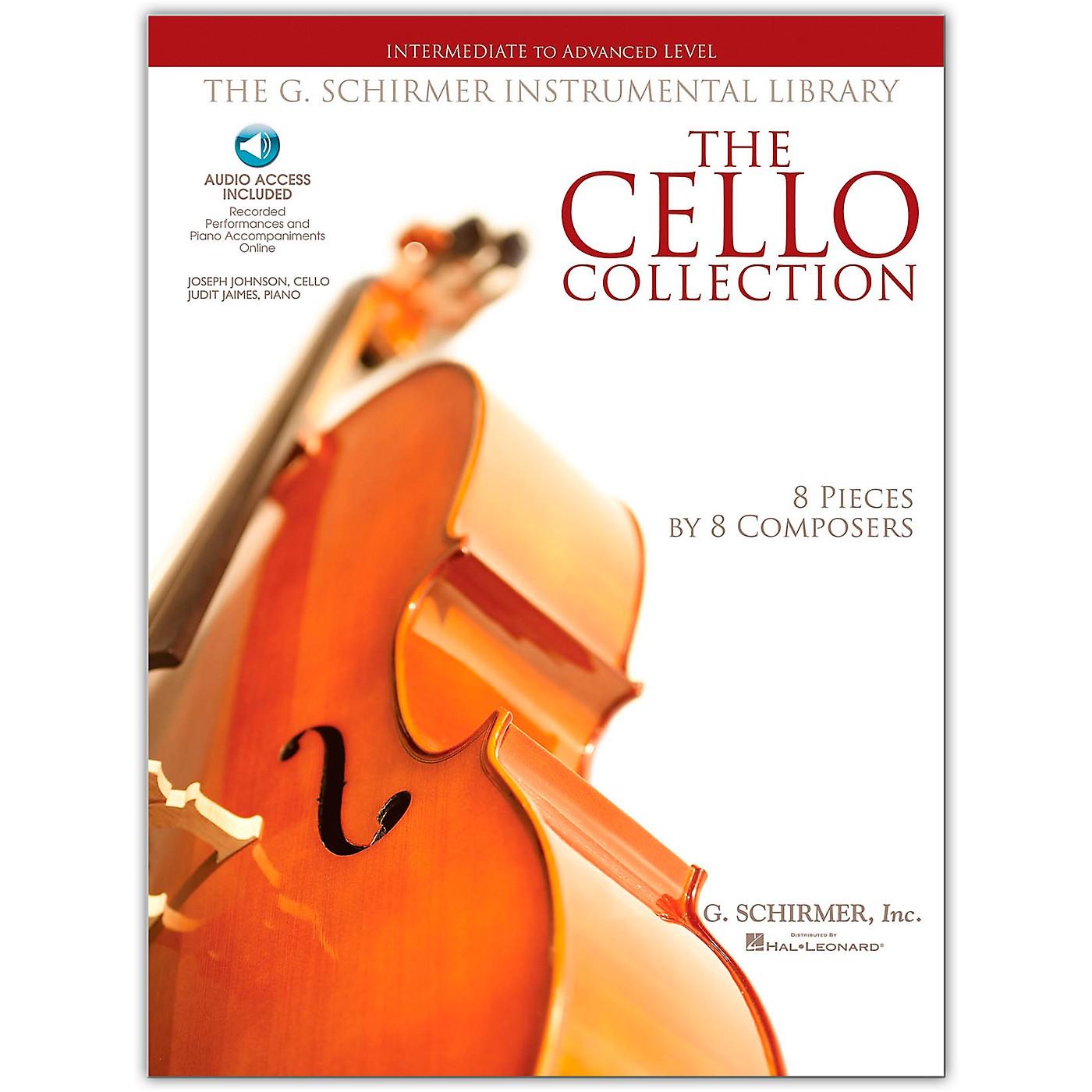 G. Schirmer The Cello Collection - Intermediate To Advanced Cello/Piano G. Schirmer Instr Library Book/Online Audio thumbnail