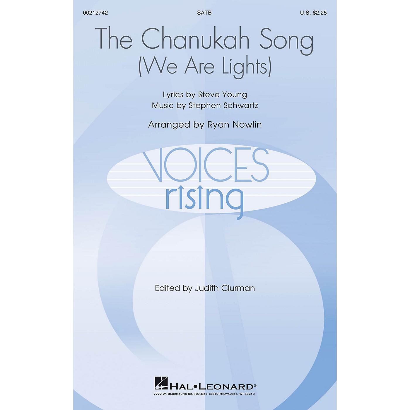 Hal Leonard The Chanukah Song (We Are Lights) SATB arranged by Ryan Nowlin thumbnail