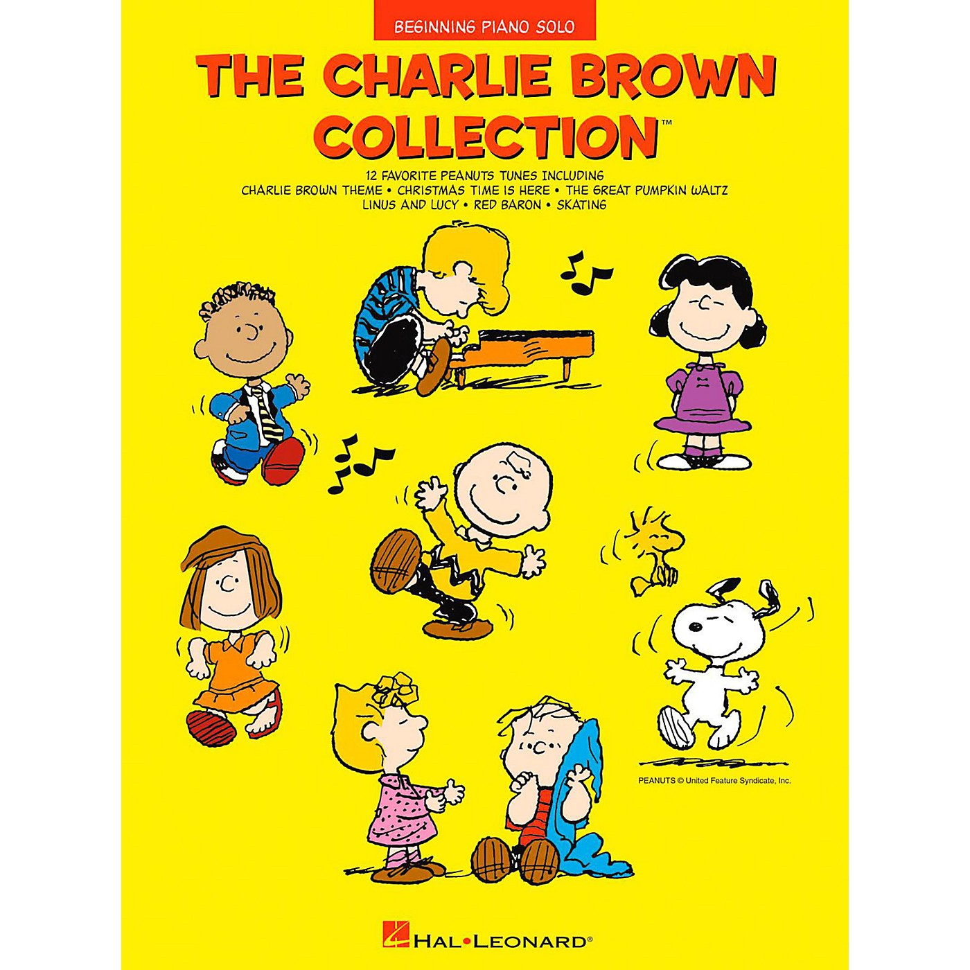 Hal Leonard The Charlie Brown Collection - Beginning Piano Solos thumbnail