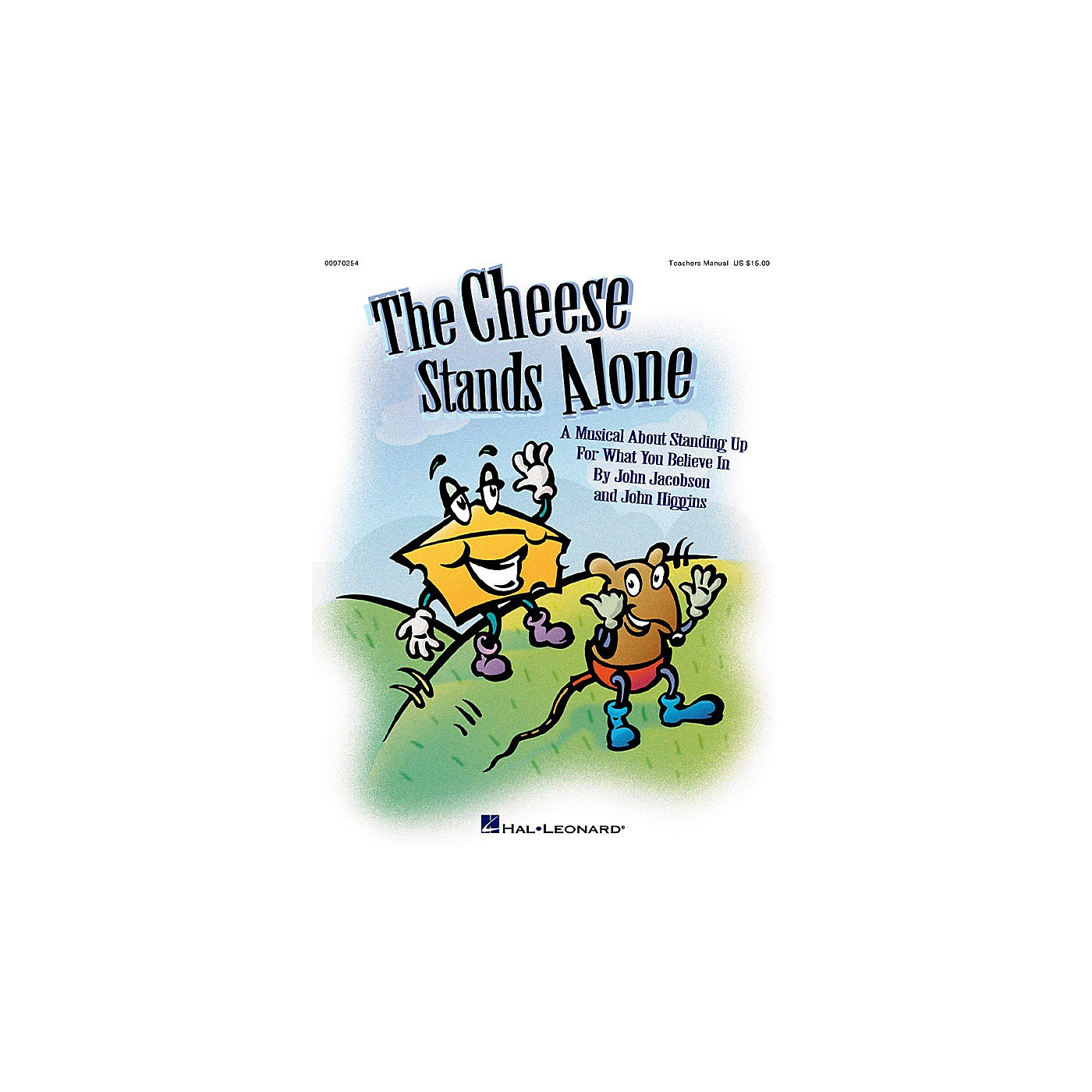 Hal Leonard The Cheese Stands Alone (A Musical for Young Voices) PREV CD Composed by John Higgins thumbnail