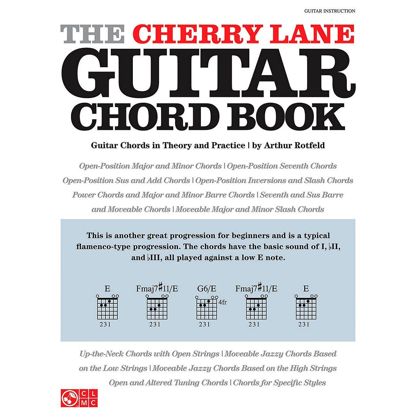 Cherry Lane The Cherry Lane Guitar Chord Book - Guitar Chords In Theory And Practice thumbnail