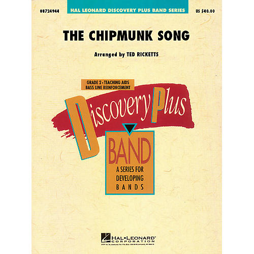 Hal Leonard The Chipmunk Song - Discovery Plus Concert Band Series Level 2 arranged by Ted Ricketts thumbnail