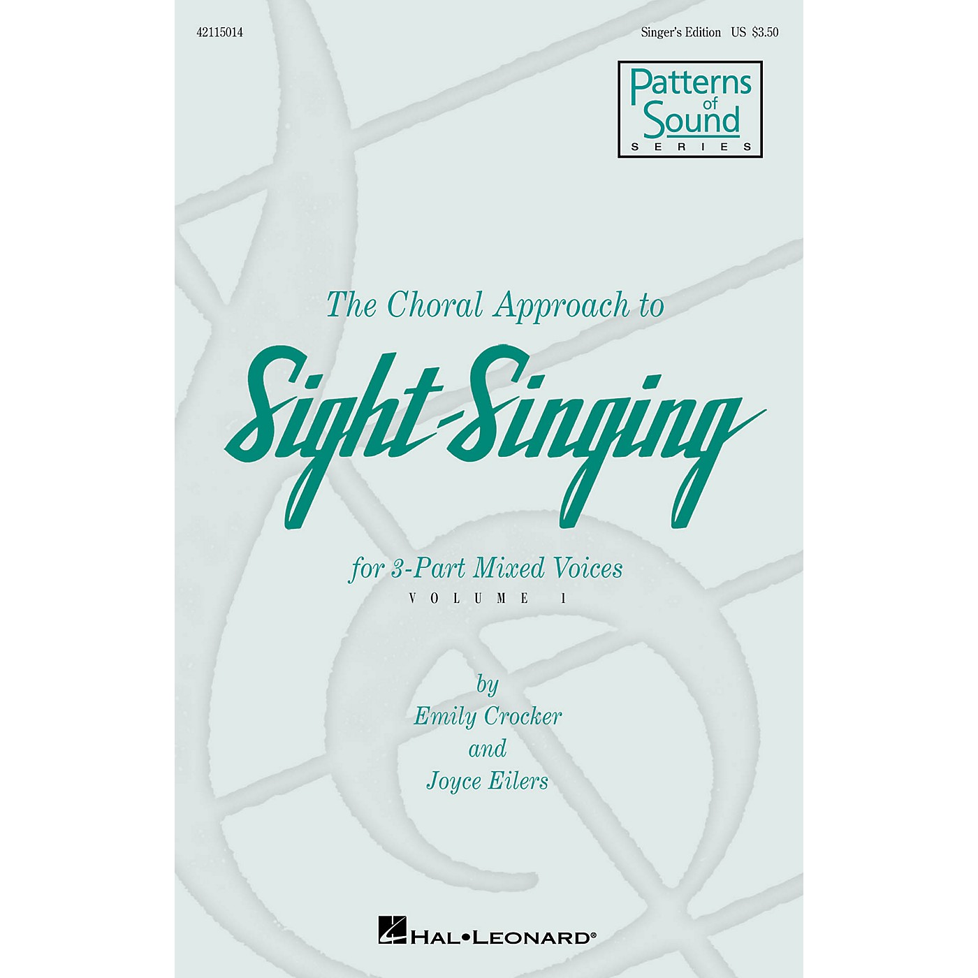 Hal Leonard The Choral Approach to Sight-Singing (Vol. I) Singer's Ed composed by Emily Crocker thumbnail