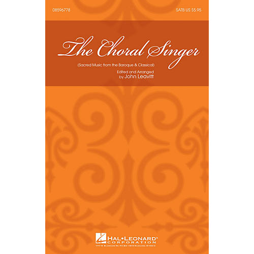 Hal Leonard The Choral Singer (Sacred Music from the Baroque and Classical) SATB thumbnail