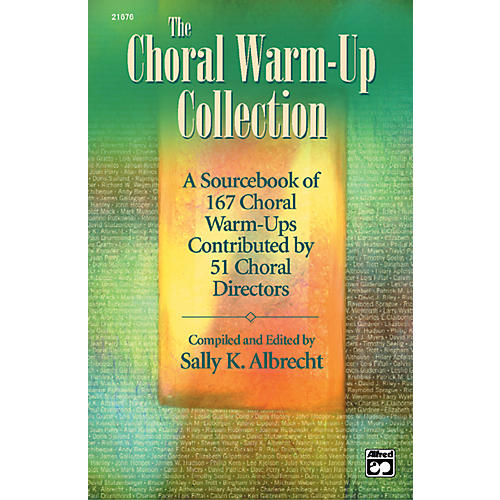 Alfred The Choral Warm-Up Collection Book thumbnail