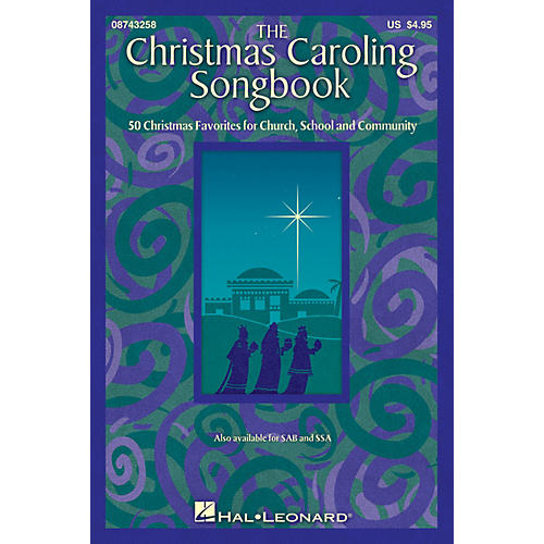 Hal Leonard The Christmas Caroling Songbook (SATB collection) SATB arranged by Janet Day thumbnail