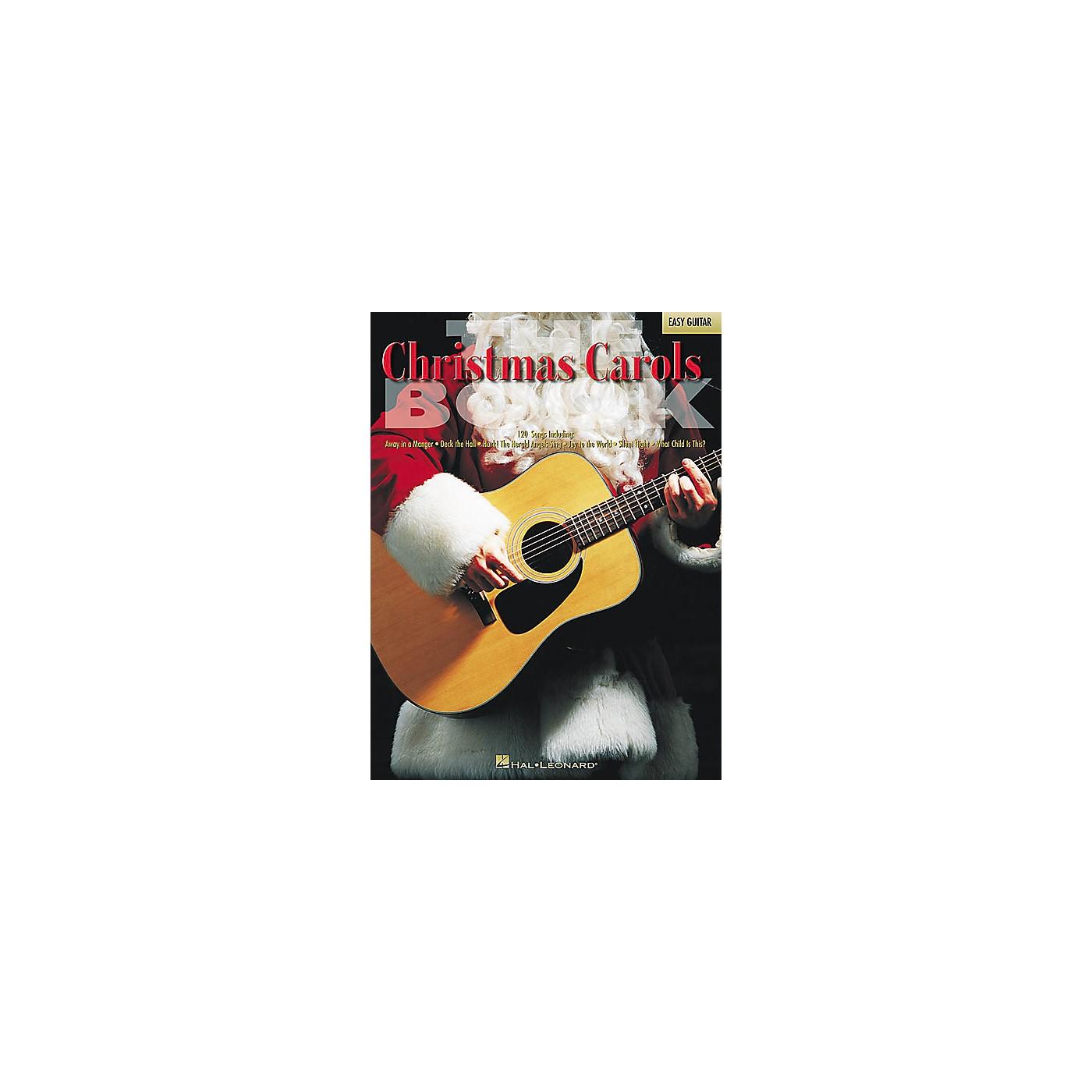 Hal Leonard The Christmas Carols Easy Guitar Tab Songbook thumbnail